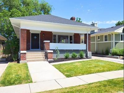Sugar House Single Family Home For Sale: 821 E Coatsville Ave S