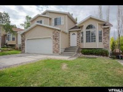 Layton Single Family Home Under Contract: 989 W 2600 N