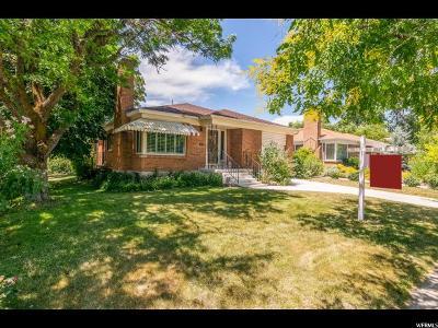 Sugar House Single Family Home For Sale: 2948 S 900 E