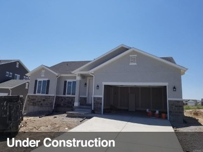 Saratoga Springs Single Family Home Under Contract: 189 E Bliss Dr #2628