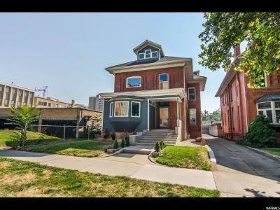Salt Lake City Single Family Home Backup: 143 S 400 E