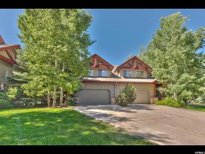 Park City Townhouse For Sale: 1366 W Meadow Loop Rd #6
