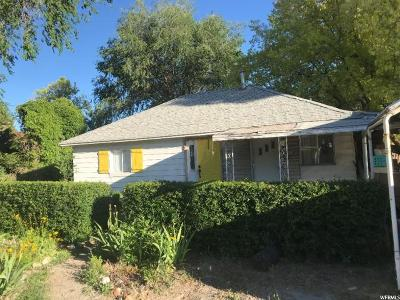 Pleasant Grove Single Family Home For Sale: 31 W 100 N