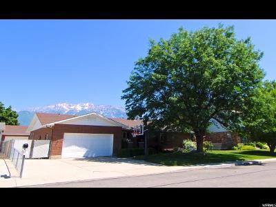 Orem Single Family Home Under Contract: 847 E 620 S