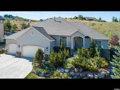 Draper Single Family Home Under Contract: 2069 E Eagle Crest Dr