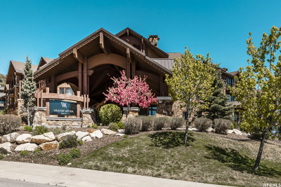Park City Condo For Sale: 2100 W. Frostwood Blvd #5130