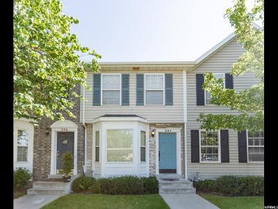 Provo Townhouse Under Contract: 884 N Independence Ave