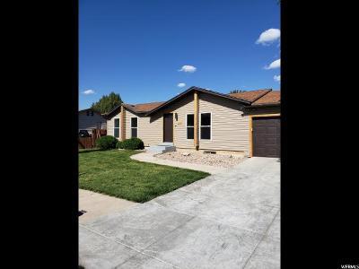 North Logan Single Family Home For Sale: 2536 N 370 E