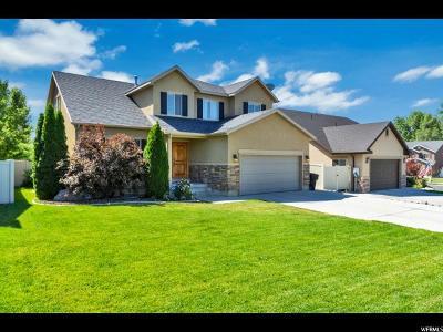Provo Single Family Home Under Contract: 1262 E Cinnamon Ridge Way S