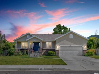 Springville Single Family Home Backup: 271 E Rodeo Dr