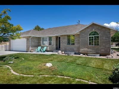 West Jordan Single Family Home Under Contract: 7649 S Barton Hollow Dr