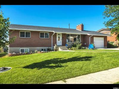 Bountiful Single Family Home For Sale: 121 E 1700 S
