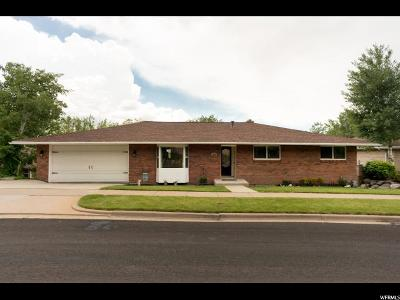 Bountiful Single Family Home For Sale: 1495 N East Hills Cir E