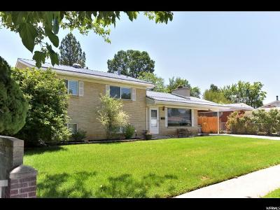 Cottonwood Heights Single Family Home Under Contract: 6721 S 1530 E