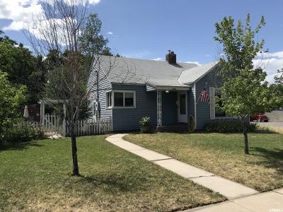 Springville Single Family Home Under Contract: 147 N 100 E