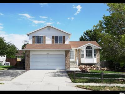 West Jordan Single Family Home Under Contract: 5450 W 7000 S