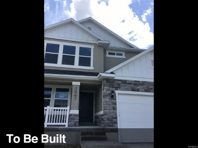 Lehi Single Family Home For Sale: 3947 W 1750 N #1119