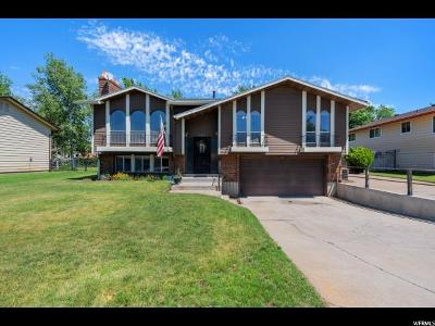 Clearfield Single Family Home Under Contract: 565 E 250 S