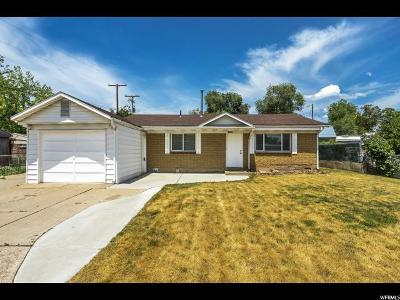 Layton Single Family Home For Sale: 1428 W Stanford St