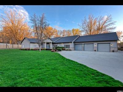 Cottonwood Heights Single Family Home For Sale: 1860 E Forest Bend Dr