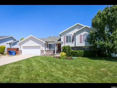 Herriman Single Family Home Under Contract: 5804 W Ophelia Ln S