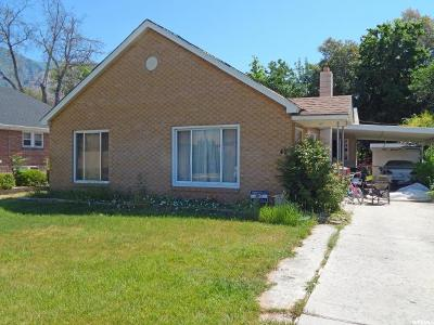 Springville Single Family Home For Sale: 42 N 100 E