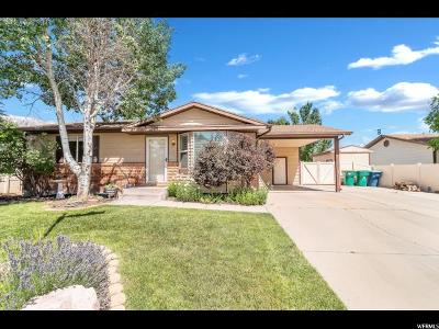 Orem Single Family Home Under Contract: 1142 N 1080 W