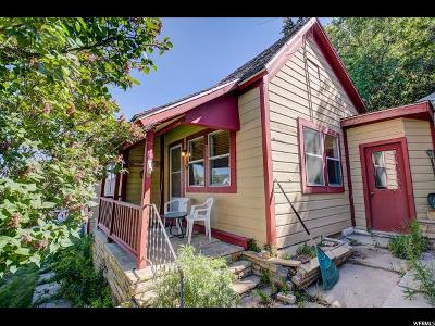 Park City Single Family Home For Sale: 417 Ontario Ave