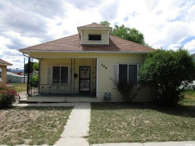 Single Family Home For Sale: 308 S 100 W