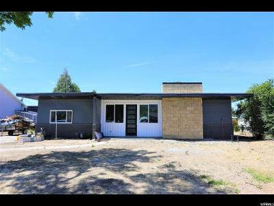 Orem Single Family Home For Sale: 1683 N 400 W