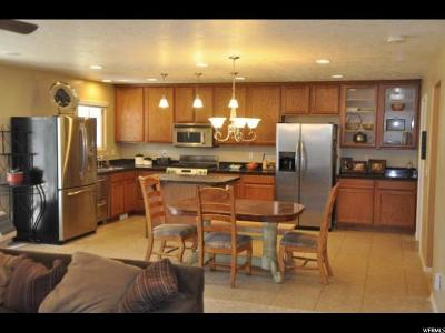 Saratoga Springs Single Family Home Backup: 133 S Kestrel W