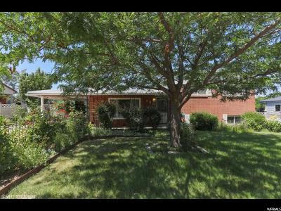 Bountiful Single Family Home Under Contract: 733 N 650 E