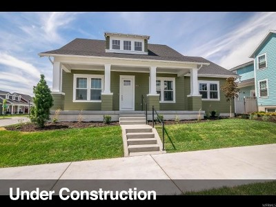 South Jordan Single Family Home For Sale: 10814 S Kestrel Rise Rd #486