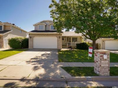 Layton Single Family Home Under Contract: 2146 N 550 W