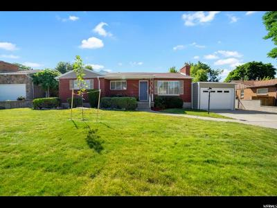 Salt Lake City Single Family Home For Sale: 2036 E Lincoln Ln