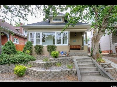Salt Lake City Single Family Home For Sale: 777 E 4th Ave