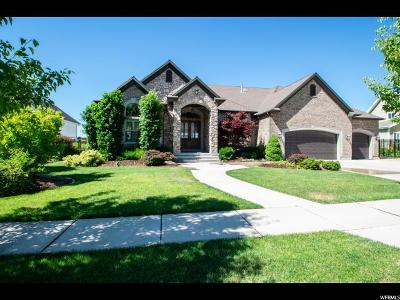 Cedar Hills Single Family Home Under Contract: 4263 W Sandalwood Dr