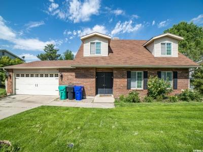 Centerville Single Family Home Under Contract: 759 N 400 W