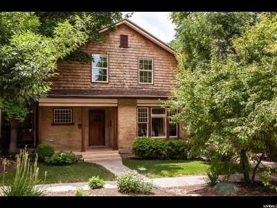 Salt Lake City Single Family Home Under Contract: 730 E Third Ave N