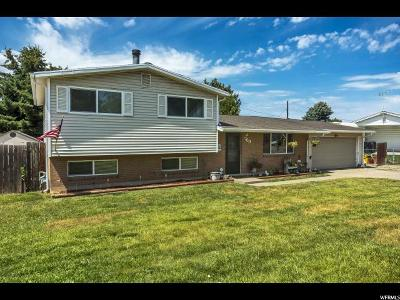 Layton Single Family Home For Sale: 769 Hill Blvd