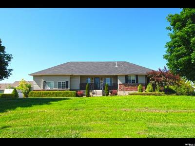 Nibley Single Family Home Under Contract: 1425 W 3200 S