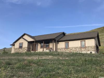 Franklin Single Family Home Under Contract: 4047 S 4650 E
