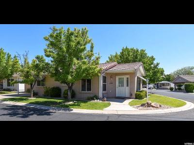 St. George Single Family Home For Sale: 2990 E Riverside Dr #144