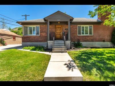 Salt Lake City Single Family Home For Sale: 2119 S King St