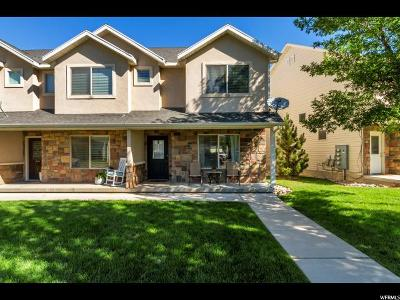 South Weber Townhouse For Sale: 1584 E Sandalwood Dr S