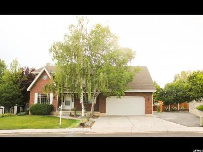 Orem Single Family Home For Sale: 1867 N Heather Dr