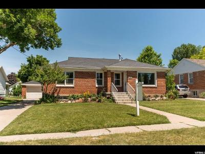 Kaysville Single Family Home Under Contract: 519 E Center N