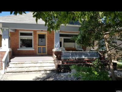 Salt Lake City Single Family Home Under Contract: 1968 S 800 E