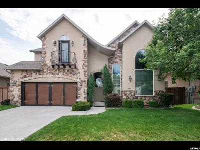Cottonwood Heights Single Family Home For Sale: 7187 Villandrie Ln