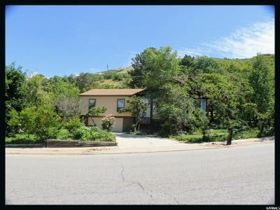 Salt Lake City Single Family Home For Sale: 8697 S Kings Hill Dr E